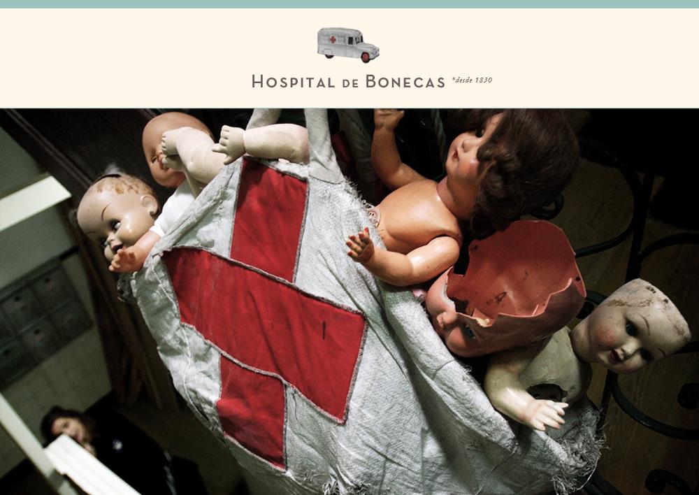 Website Hospital de Bonecas