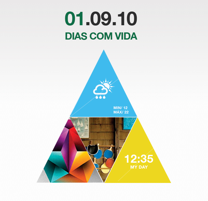 Website e Screensaver <br> 'dias com vida'