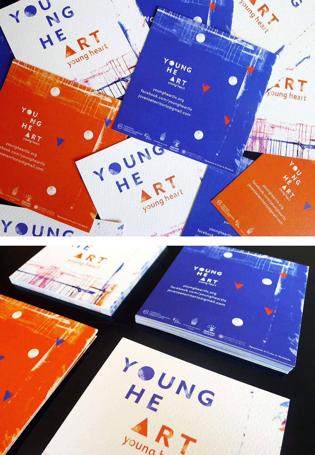 YOUNG HE-ART <br> Visual identity