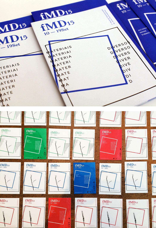 fMD – MATERIAIS DIVERSOS FESTIVAL Visual identity